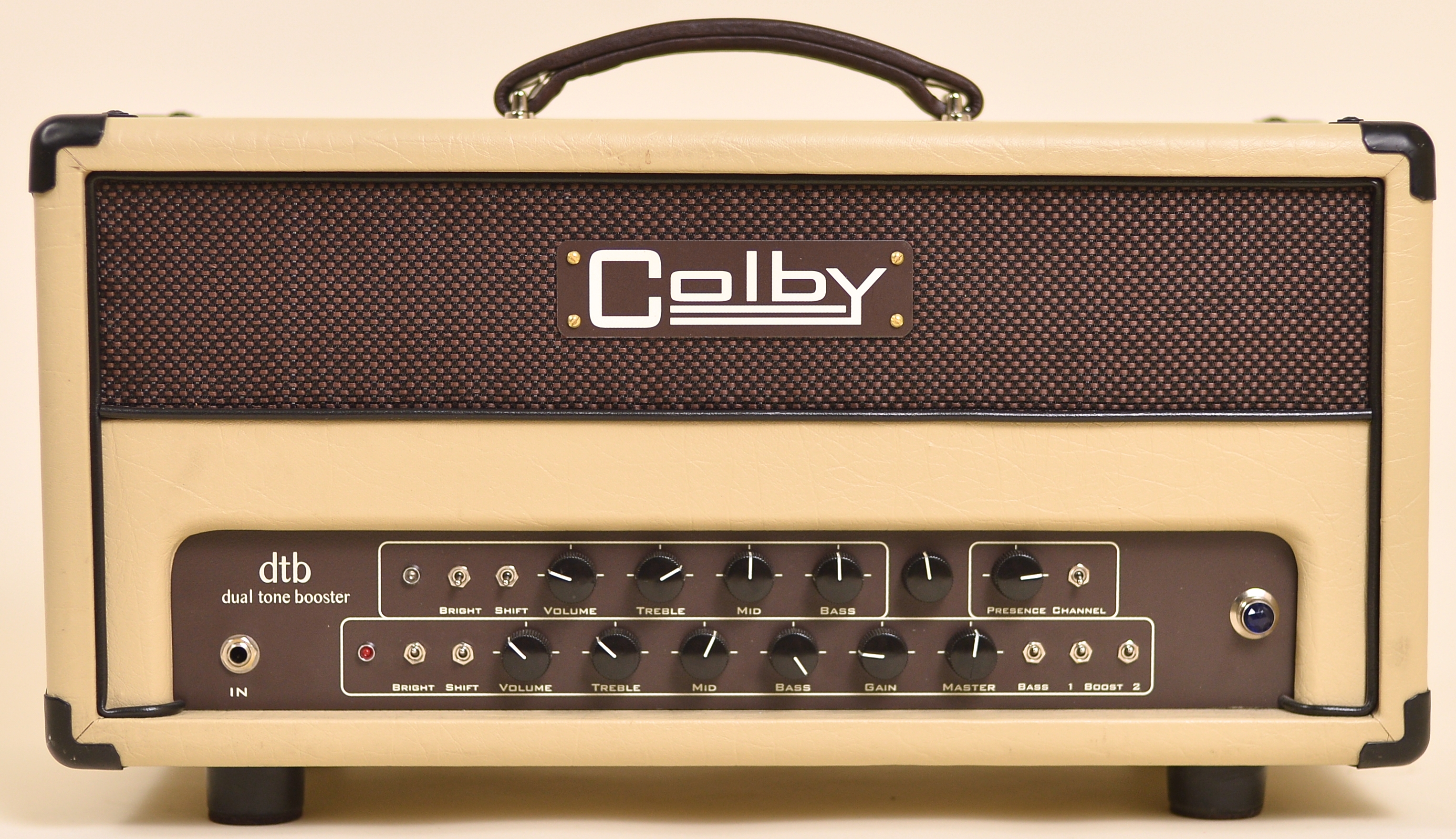 Colby Dual Tone Booster Amplifiers Dtb50 Dtb100 Amplification Audio New Dtb Od Control Master