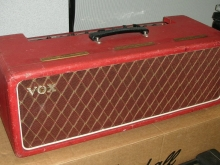 Rare AC30 head with red covering